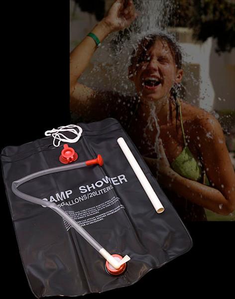 Bushcraft Camp Shower