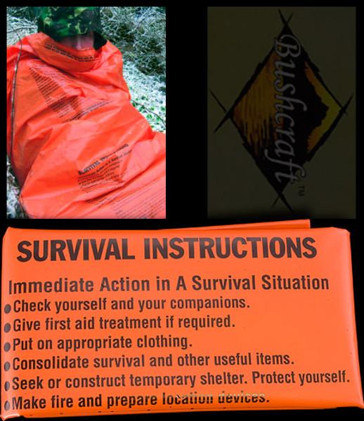 Bushcraft Printed Survival Bag