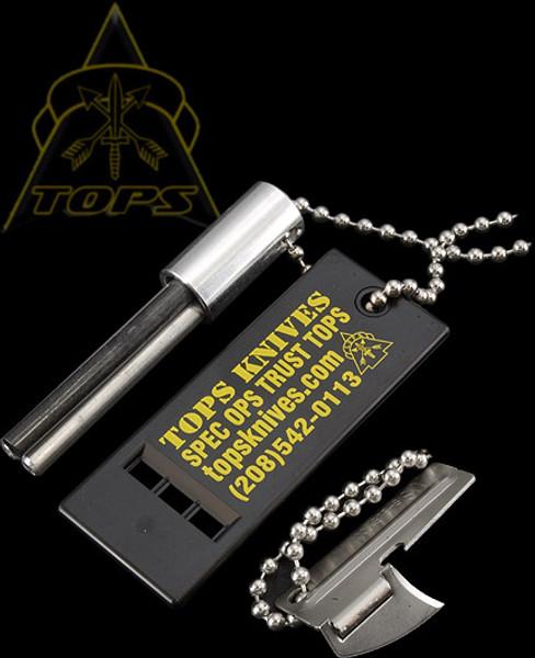 TOPS Knives Fire Starter Emergency Kit