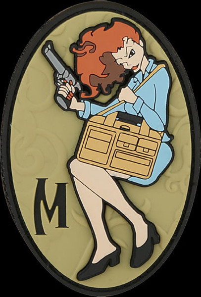 Maxpedition Concealed Carrie PVC Morale Patch