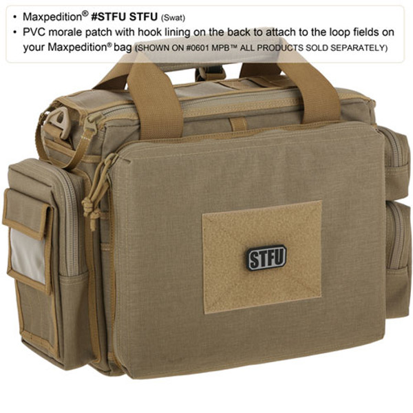 Maxpedition STFU PVC Morale Patch