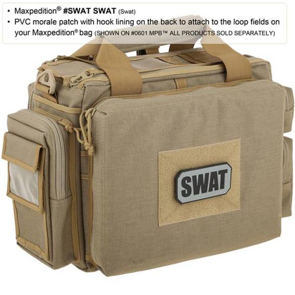 Maxpedition SWAT 3D PVC Morale Patch
