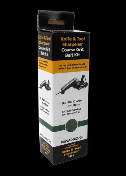 Work Sharp WSKTS P80 Aluminium Oxide (6 Pack)