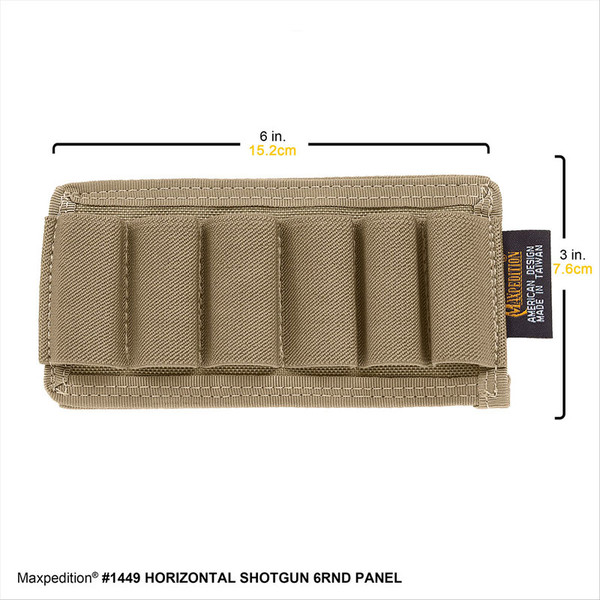 Maxpedition Shotgun 6rnd Panel Horizontal