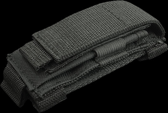 Carry All Black Nylon Pouch