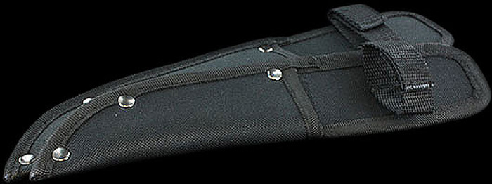 Knife Sheath Straight Sheath Black Nylon