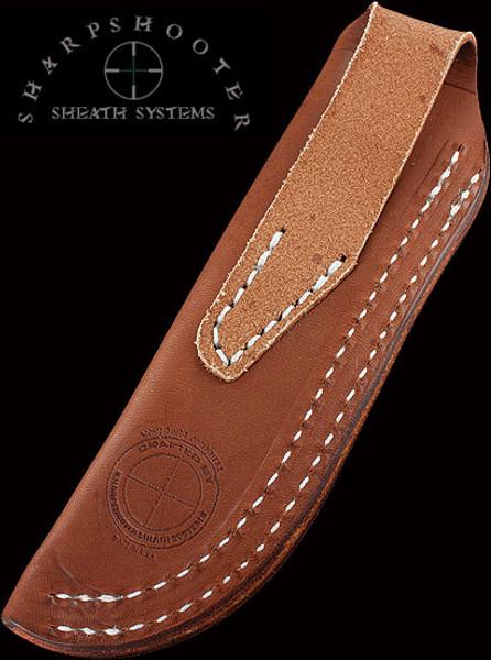Sharpshooter Leather Universal Belt Sheath