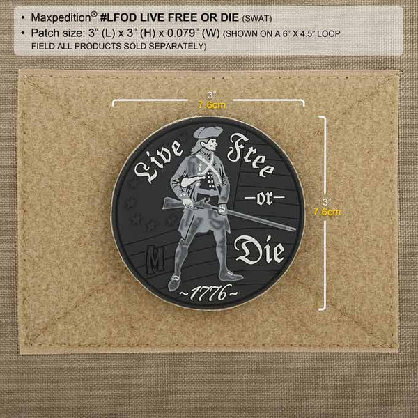Maxpedition Patch LIVE FREE OR DIE