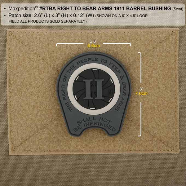 Maxpedition Right To Bear Arms Patch