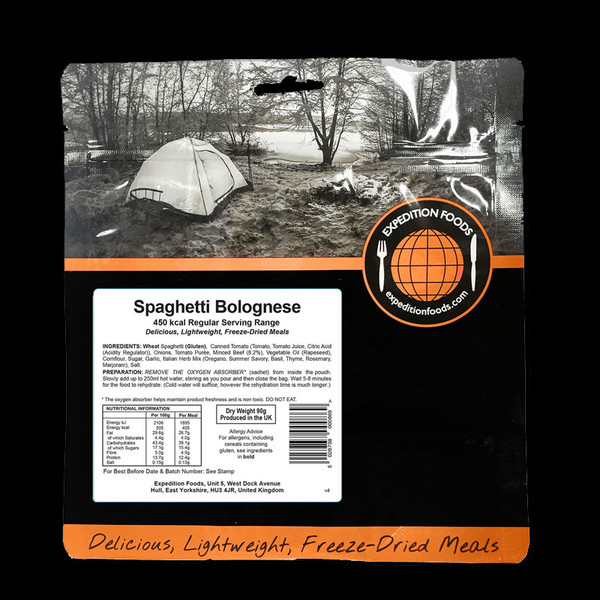 Expedition Foods Spaghetti Bolognese (Regular)