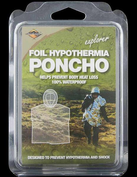 Bushcraft Emergency Foil Poncho