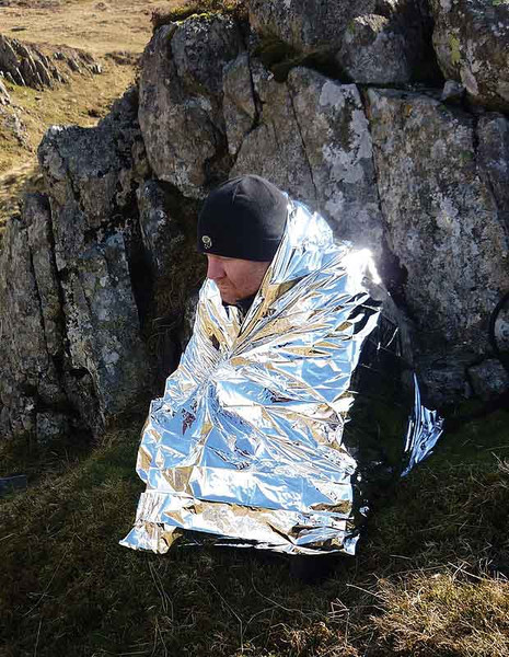 Bushcraft Foil Hyperthermia Blanket