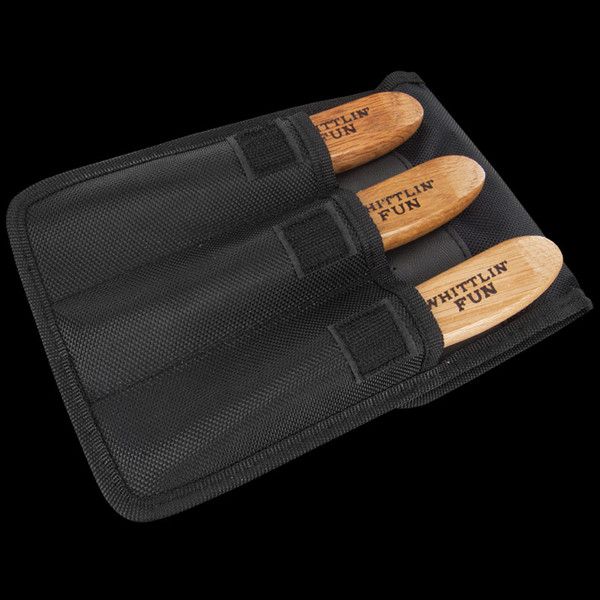 Old Forge Three Piece Wood Carving Set