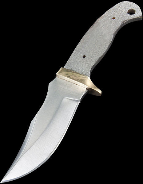 Blade Blank Modified Clip Point