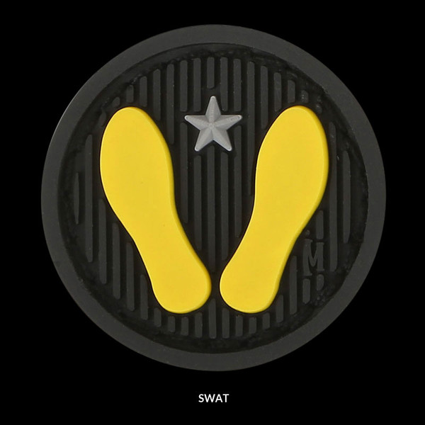Maxpedition Yellow Footprints Patch
