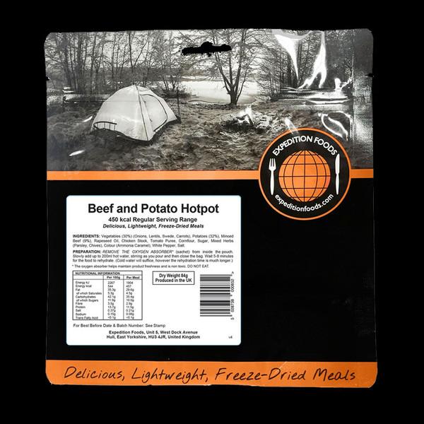Expedition Foods Beef and Potato Hotpot (Regular)