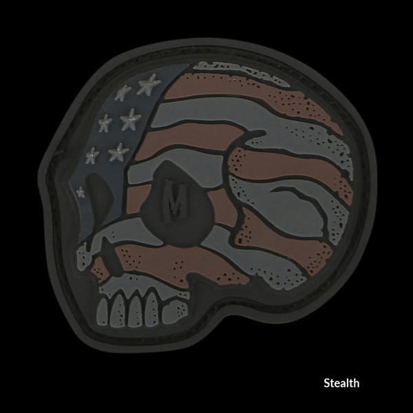 Maxpedition Stars and Stripes Skull Patch