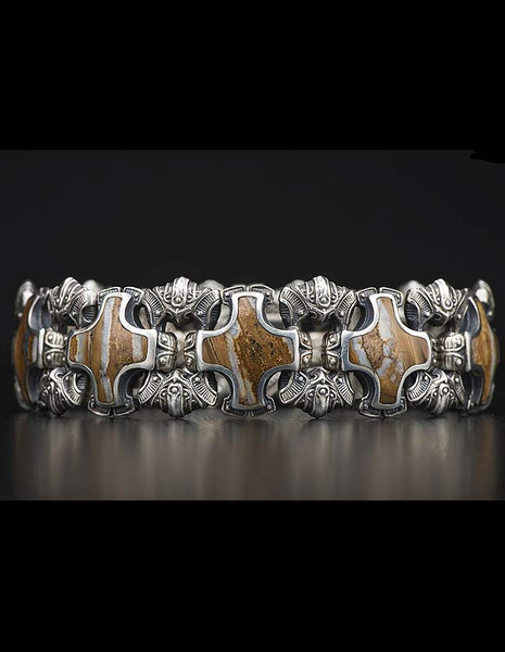 William Henry Shield Bracelet