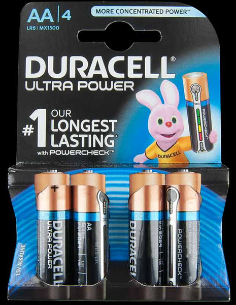 Duracell Ultra AA Pack of 4