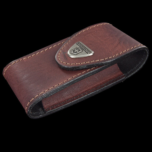 Victorinox Leather Belt Pouch Brown Large