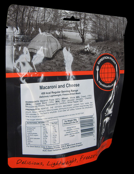 Expedition Foods Macaroni and Cheese (Regular)