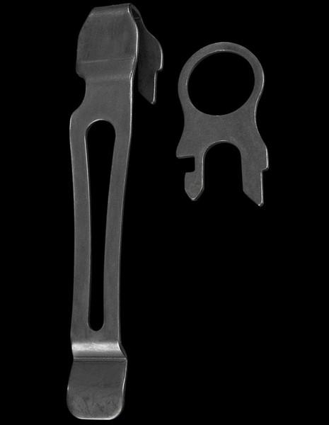 Leatherman Pocket Clip & Lanyard Ring Black