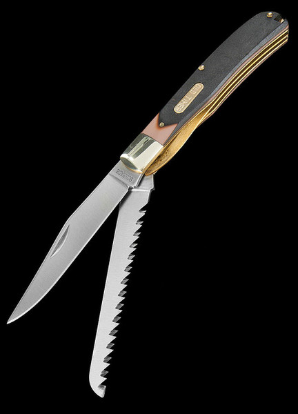 Schrade Old Timer Buzz Saw Trapper