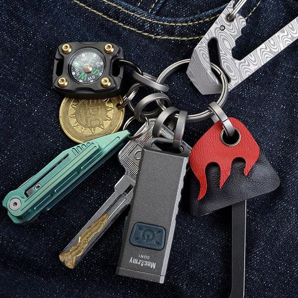 MecArmy CH7 Titanium Keyring Kit