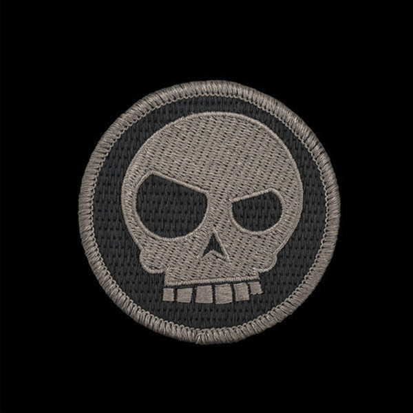 TAD Mean T-Skull Patch