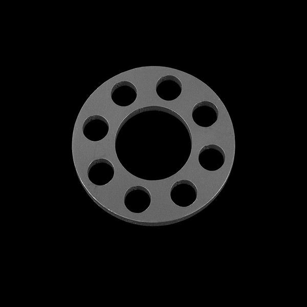 Titech Titanium Round Organizer Keyring