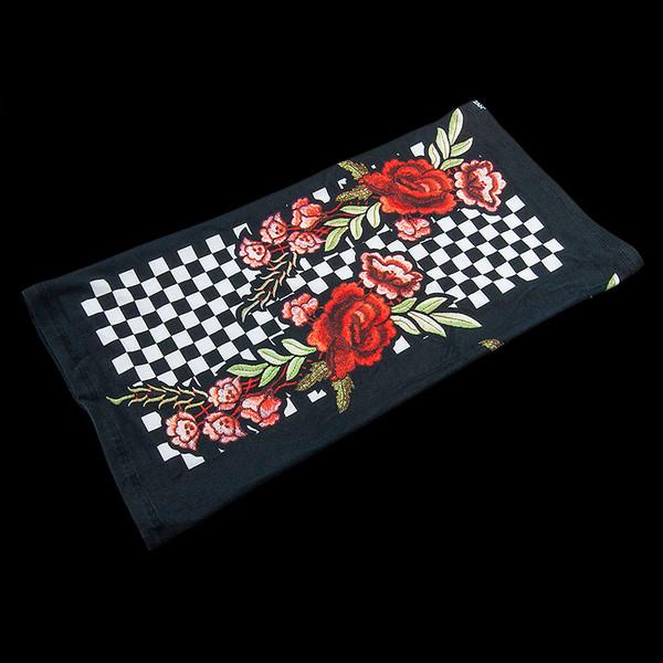 ZAN Headgear Motley Tube SportFlex Checkered Floral