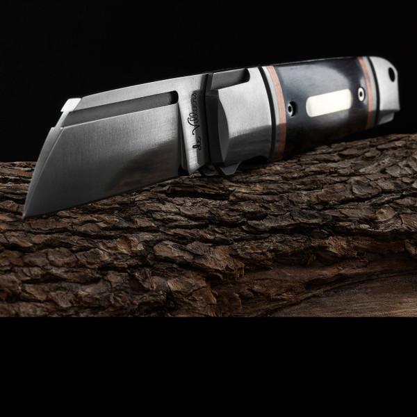 Andre de Villiers Pocket Butcher Dark Wood Copper