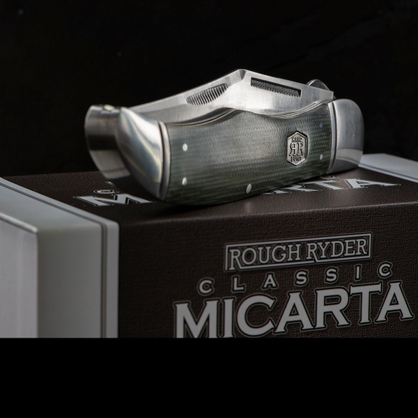 Rough Rider Folding Hunter Classic Micarta
