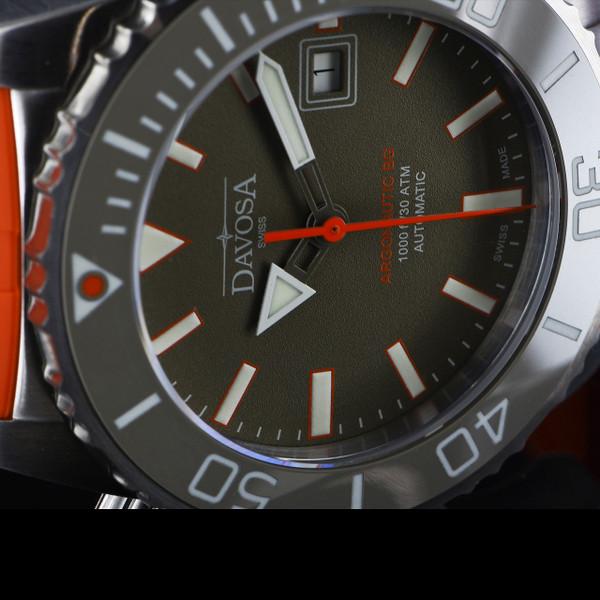 Davosa Argonautic BG 30ATM Orange Rubber