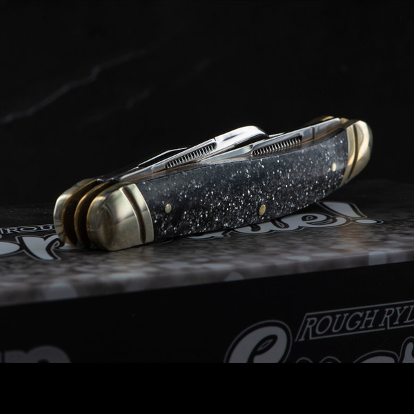 Rough Rider Stockman Silver Sparkle