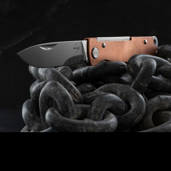 Boker Plus Atlas Copper Knife On Chains