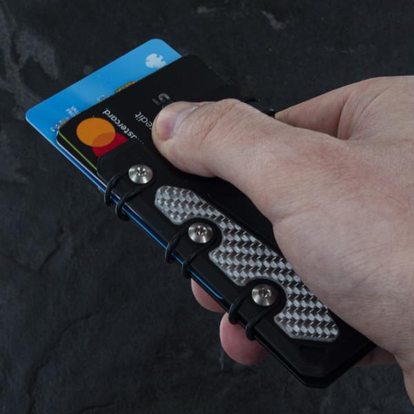 EOS Wallet Lite 3.0 Silver Carbon Fibre