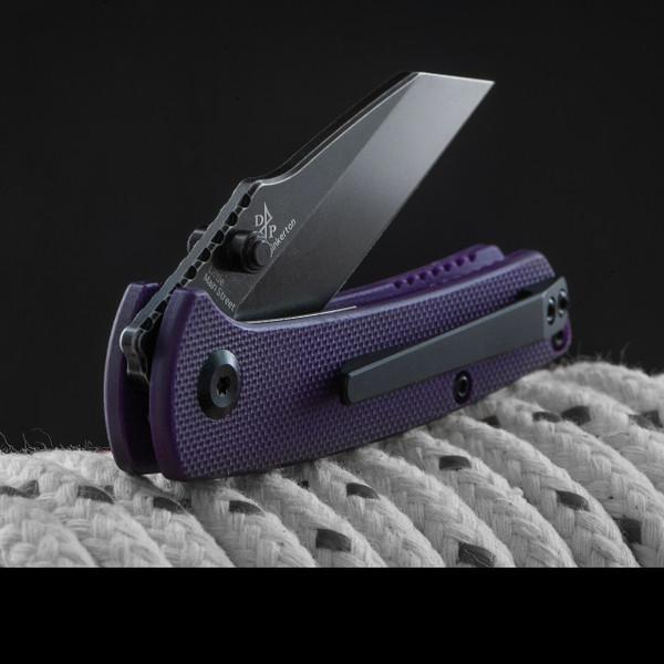 Kansept Little Main Street Black G10 Purple