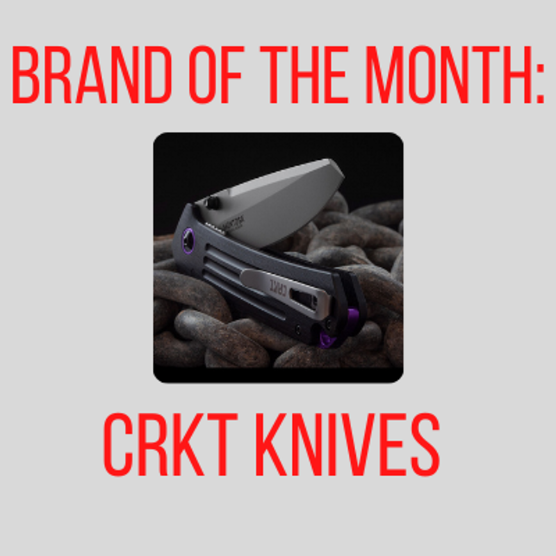 Brand Of The Month: CRKT Knives