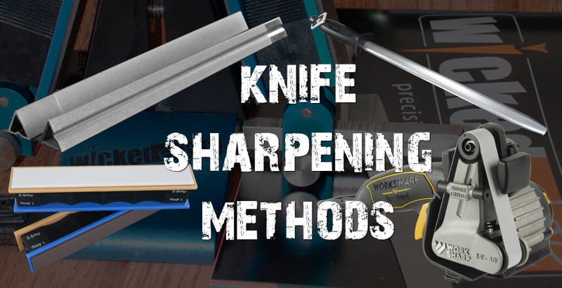  Sharpening Basics: What are the different types of knife sharpener available?