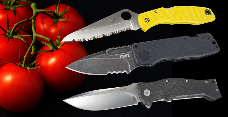  How do you decide between plain, serrated and part serrated blades?