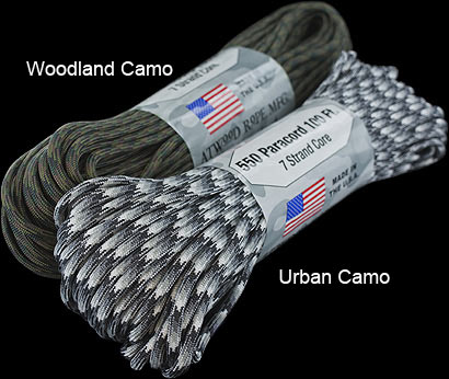 550 Paracord - Patterned - 30 metres