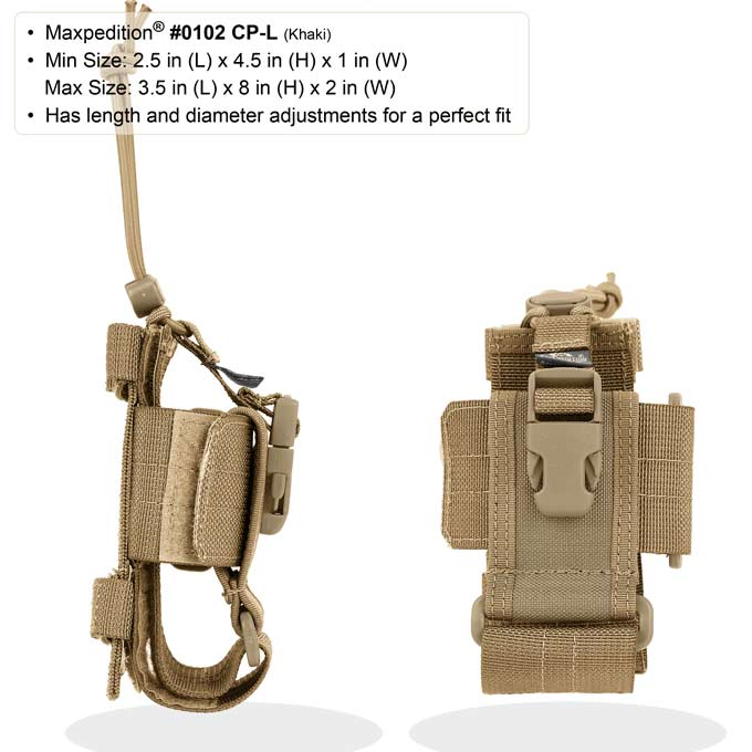 Maxpedition CP-L Phone Holster - Large