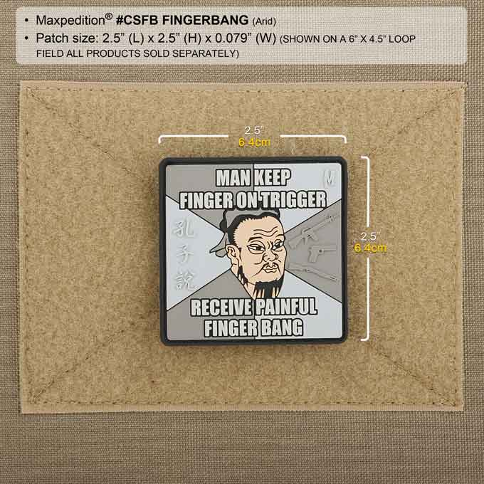 Maxpedition Patch FINGER BANG