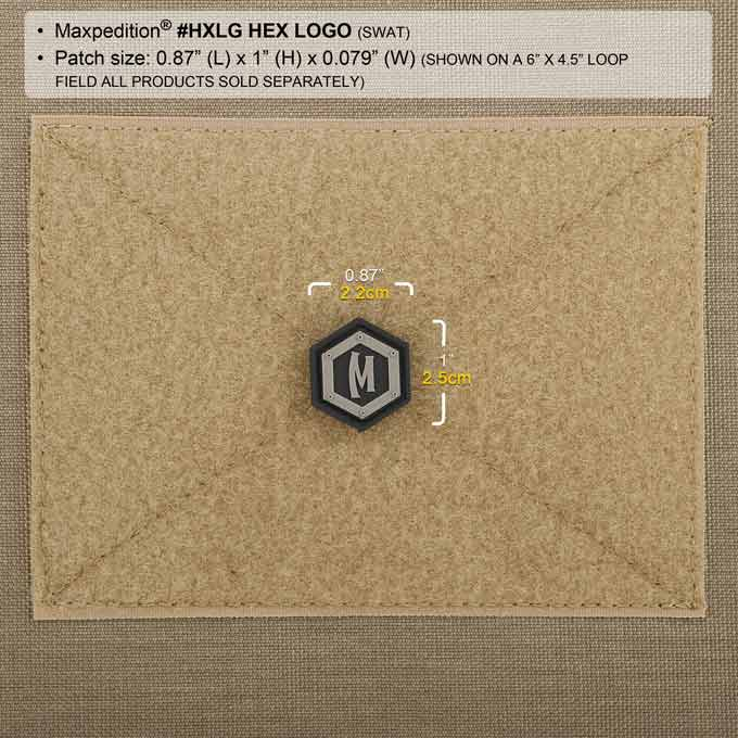 Maxpedition Patch MAXPEDITION HEX LOGO