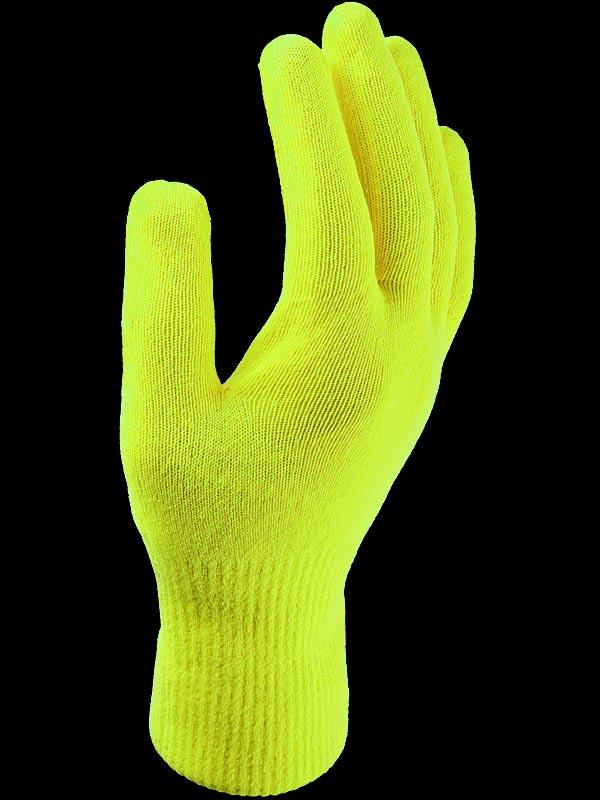 Sealskinz Waterproof All Weather Ultra Grip Knitted Glove Neon Yellow