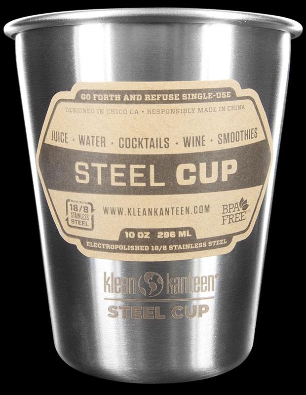 Klean Kanteen Steel Cup 295ml