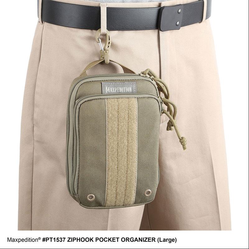 Maxpedition Ziphook Pocket Organiser Large