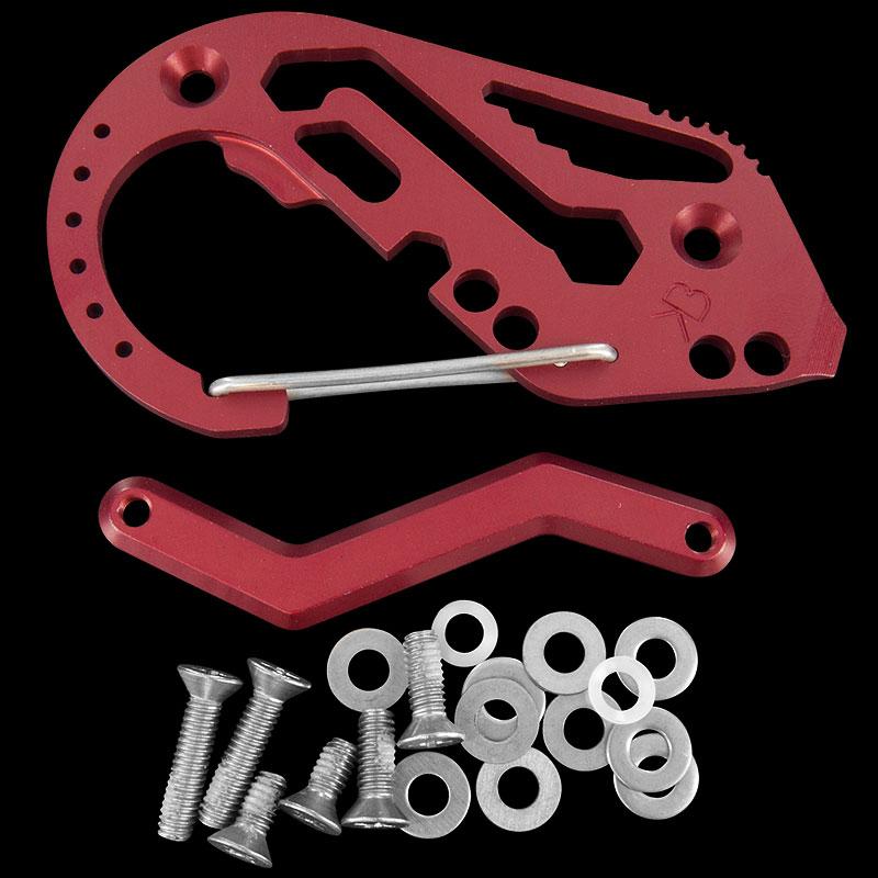 Fortius Keybiner Aluminium
