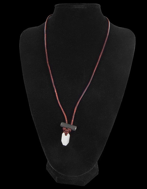 Wazoo Firestarter Necklace Leather